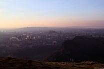 Edinburgh von oben.