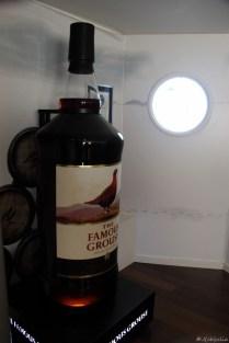 Die Guinessbuch-rekord-whiskeyflasche