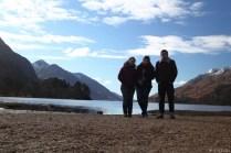 Wir am Great Lake / Loch Shiel von Harry Potter.