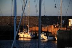 der Hafen von Lossiemouth
