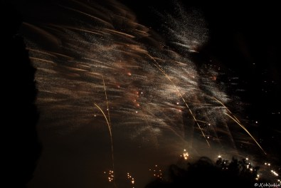 mit dem Feuerwerk war auch mein Sommerjob zu Ende