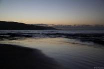 zum Sonnenuntergang noch schnell an einen Strand....