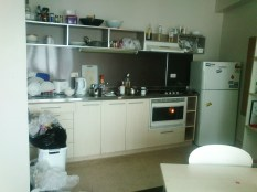 the kitchen when I moved in. It was never that dirty after all my new flatmates moved in