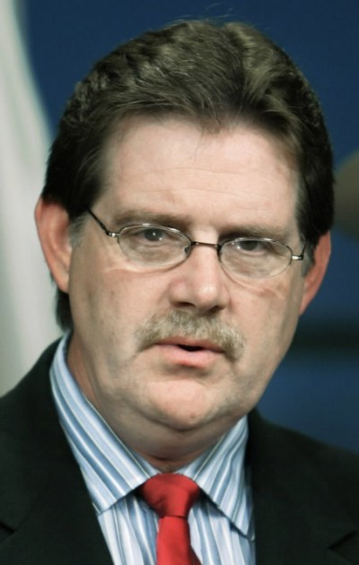 Ron Sparks with mustache