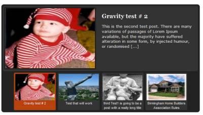 WordPress Feature Post Slider Using jQuery