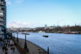 The Thames dominates the city