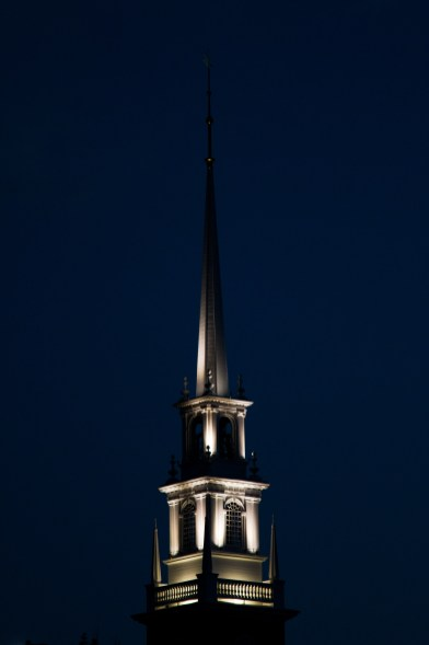 I think this is the top of Memorial Church still