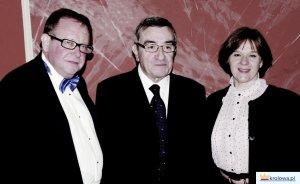 Janusz Telejko z Arturo Marim i żoną Janiną