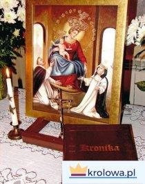 Cudownie znaleziony obraz Matki Bożej Pompejańskiej