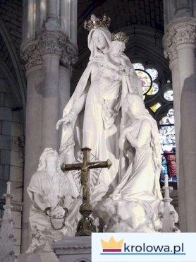 Figura Maryi w Montligeon