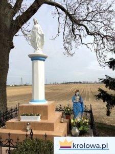 Figura Maryi w Dobieżynie