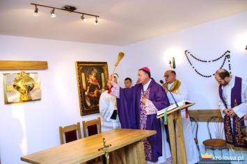 Poświęcenie kaplicy Grobla