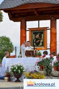 Mszę św. sprawował ks. Jacek okarz