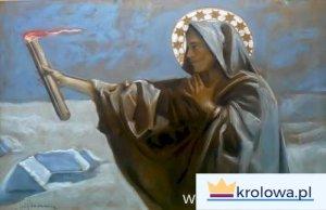 """P. Stachiewicz """"Matka Boża Gromniczna"""""""