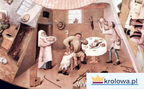 Hieronim Bosch Obżarstwo