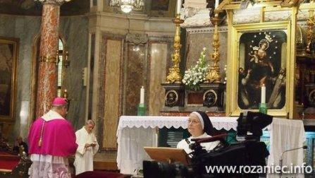 Abp Caputo w sanktuarium