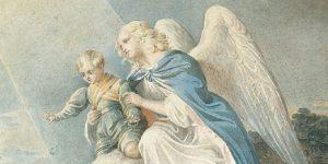 Anioł Stróż i dziecko