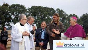 ks. Kompf, Leszek Lesiczka, Jacek Napionek, ks. bp Balcerek