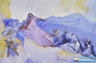 Wizja św. Dominika