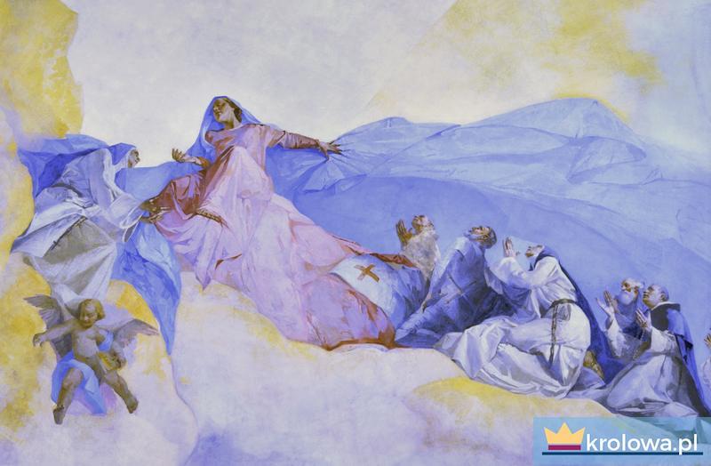 Niebiańska wizja św. Dominika