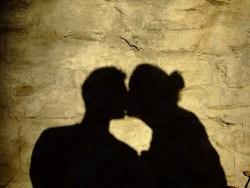 szerelmespár árnyéka