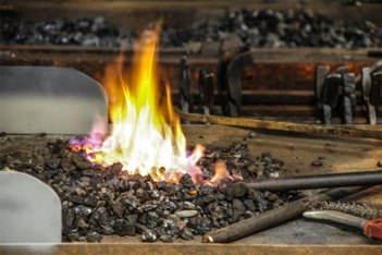 vuur smederij kromhout