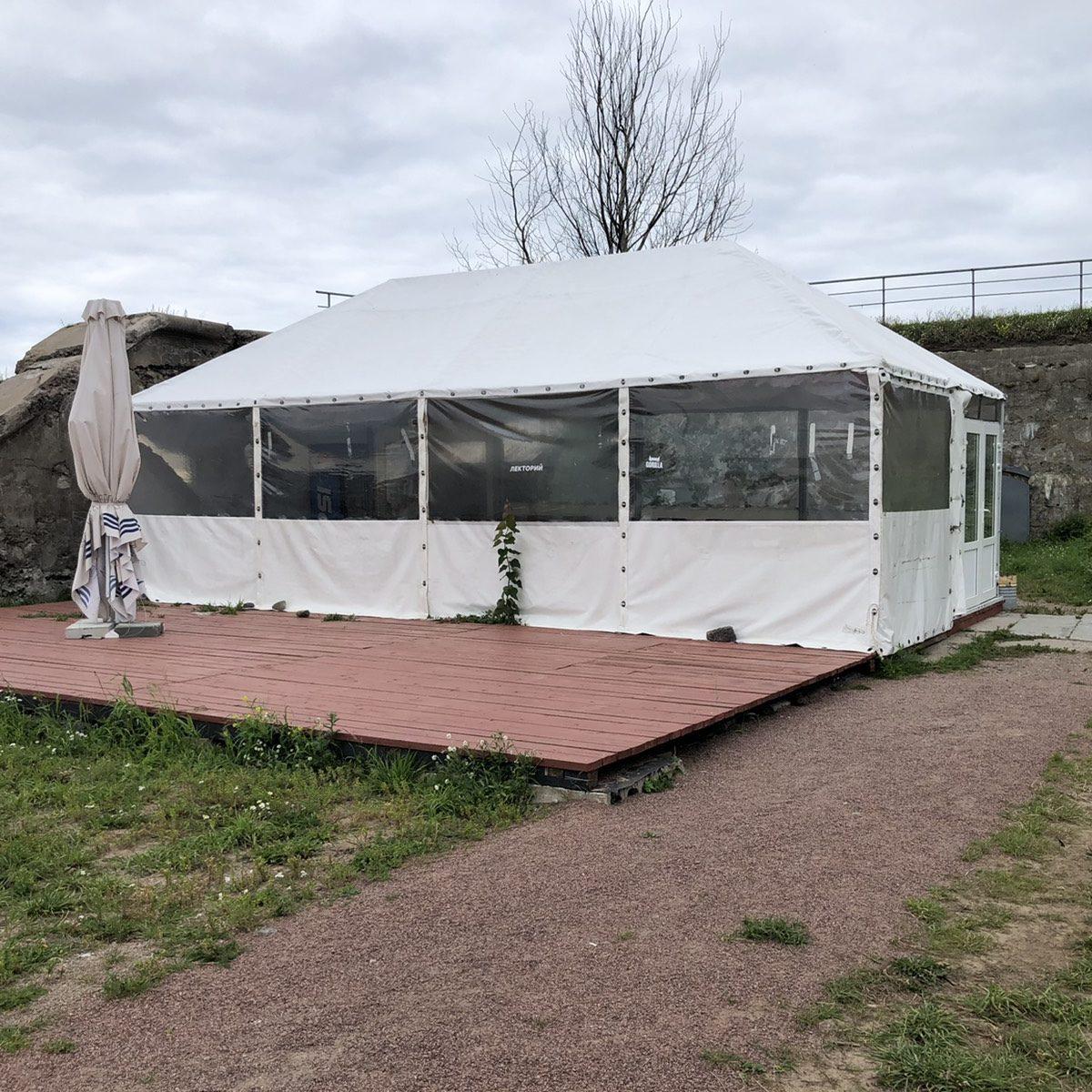 "малый шатер форт ""Константин"""