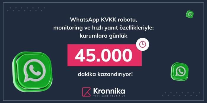 whatsapp kvkk robotu bilgi verici görsel