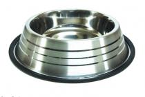 Миска металева полоска 0,90 л 18 см ММ36