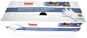 Перчатки ветеринарные для искусственного осеменения Super Sensitive 100 см 23 мк №100