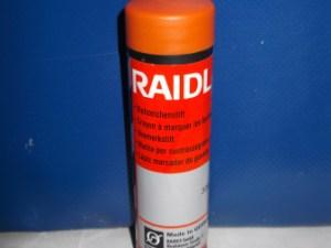 Маркер-олівець RAIDEX помаранчевий 60 г