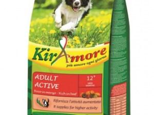 Kiramore Dog Medium Adult Active (Говядина) 15kg