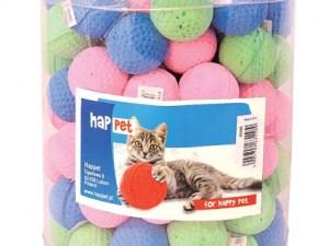 Іграшка д/котів м'яч зефір (96 шт)