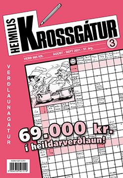 Heimiliskrossgátur 3. tbl. 2021 - 995 kr.