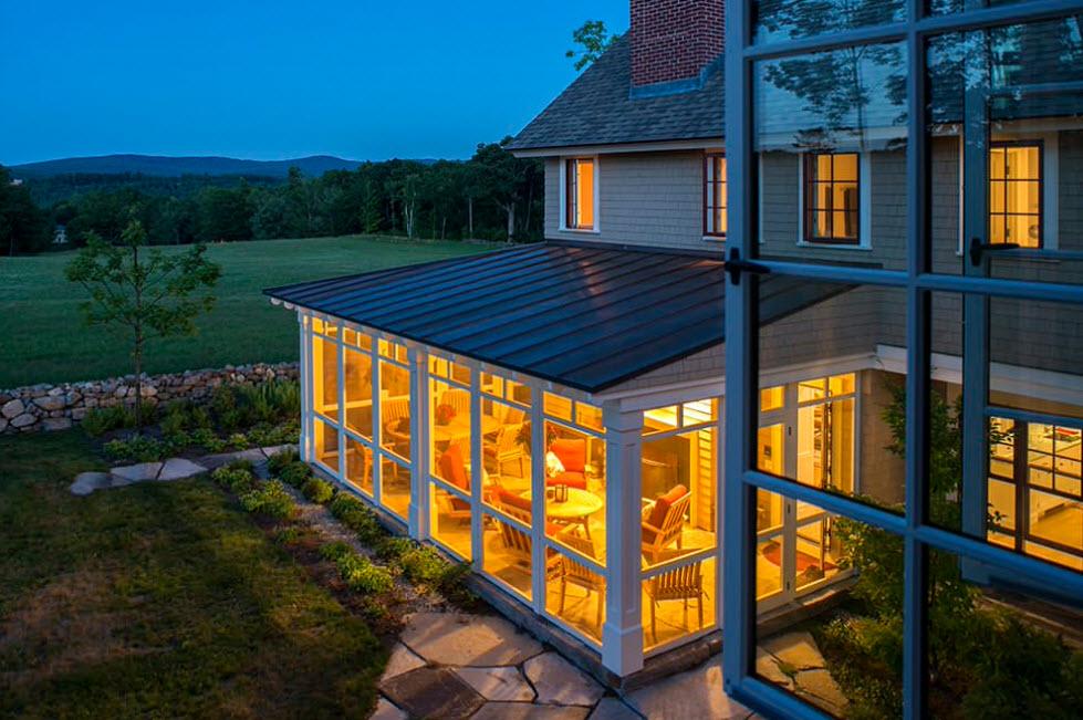 прозрачные террасы пристроенные к дому фото подборка романтичных сердечковых