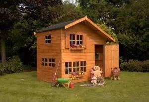 Cum să faci o casă de copii cu mâinile tale: din lemn și alte materiale. Desene cu dimensiuni (80 fotografii de idei și video)