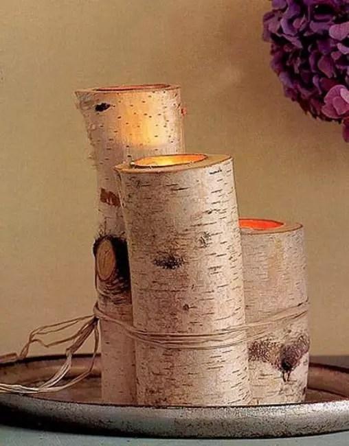 Bouleau, une petite menuiserie, nous obtenons des fondations en bois charmantes