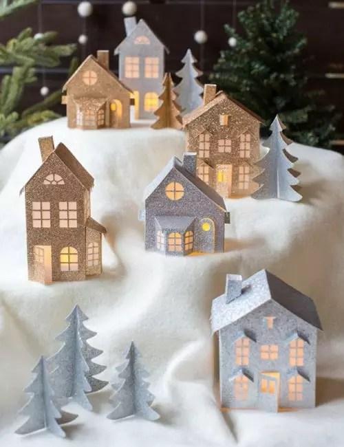 Rumah mainan kertas