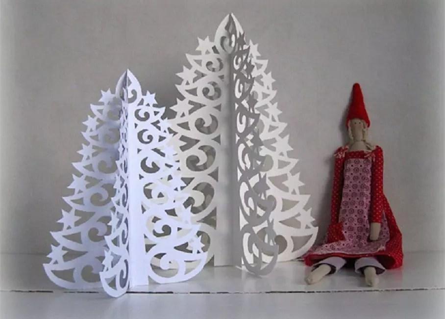 Ajur Noel Ağaçları