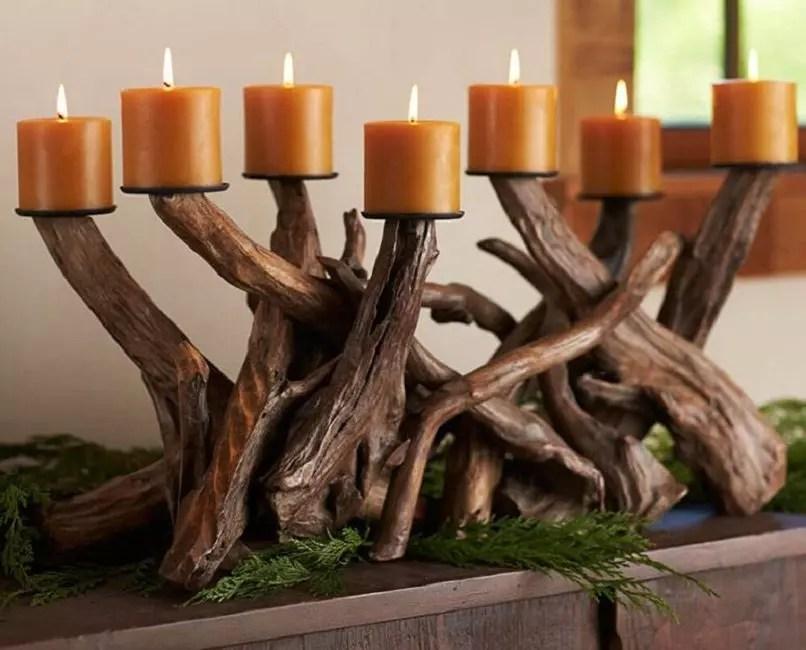 Durable, de grandes racines créeront une atmosphère de hutte forestière