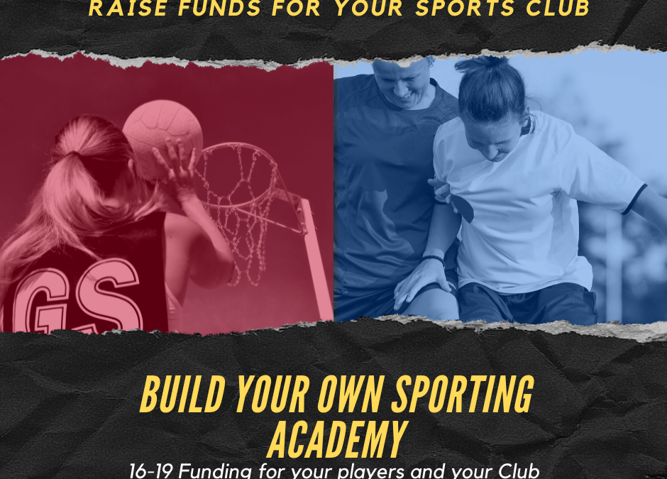 Raise Funds for your Sports Club