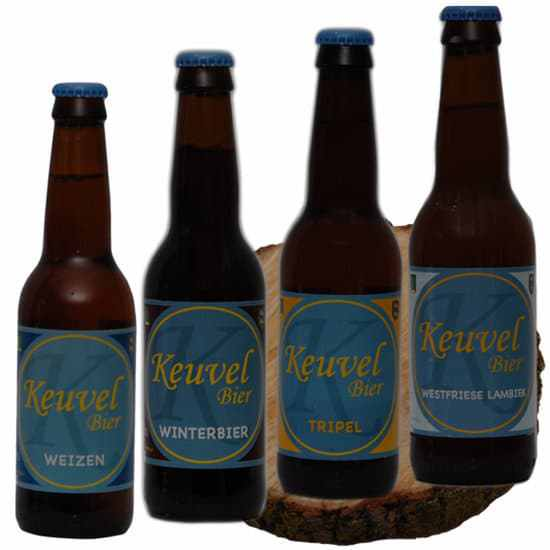 Bierpakket-Keuvel-4-op-schijf-Keuvel-Bier-Westfries-biergeschenk-gebrouwen-in-Noord-Holland-Biergeschenk-Specialist-www.krstppkt.nl