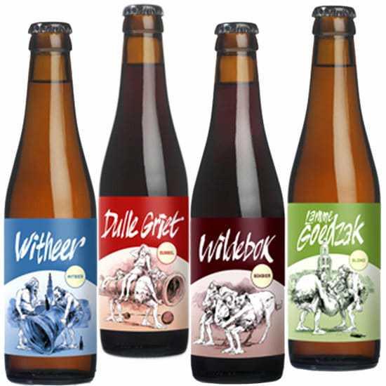 Bierpakket - Streek bierpakket gevuld met lokaal bier en ui te breiden met streekproducten - Streekbier Specialist - www.krstpkkt.nl