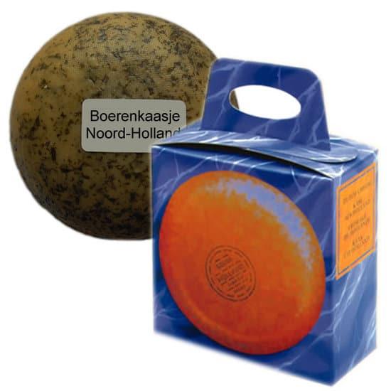 Boerenkaasje Noord-Holland in kadoverpakking - www.krstpkkt.nl