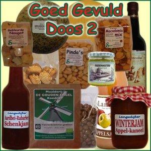 Kerstpakket Goed Gevuld 2 - Streekpakket goed gevuld is samengesteld met eerlijke lokale streekproducten - Streekproducten Specialist - www.kerstpakkettencadeaubon.nl