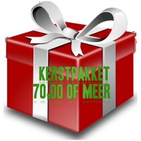 Kerstpakket € 70,00 of meer...