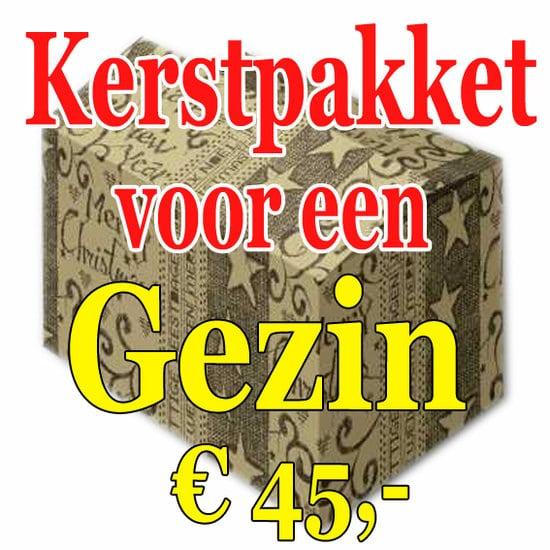 Kerstpakket Gezin Verrassing 45 - Familie verrassingspakket voor het hele gezin - Kerstpakket verrassing Gezin - www.kerstpakkettencadeaubon.nl