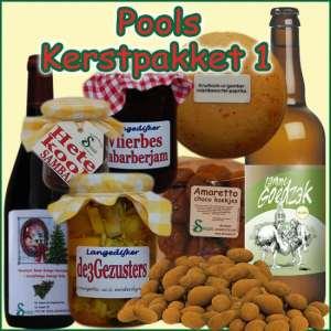 Kerstpakket Pools 1 - Streekpakket gevuld met unieke Noord-Hollandse streekproducten - Kerstpakket Specialist - www.kerstpakkettencadeaubon.nl
