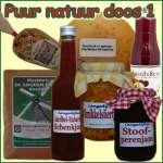 Aparte Kerstpakketten met een verhaal Puur Natuur 1 - kerstpakket gevuld met originele Streekproducten - Streekspecialist - www.krstpkkt.nl