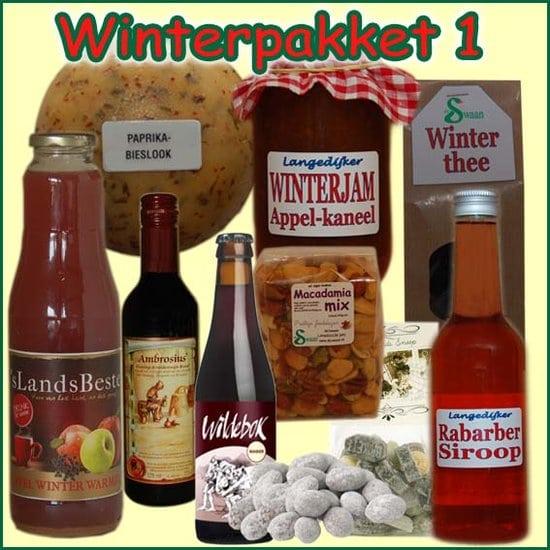 Kerstpakket Winter 1 - Streekpakket gevuld met unieke winterse streekproducten - Kerstpakket Specialist - www.krstpkkt.nl